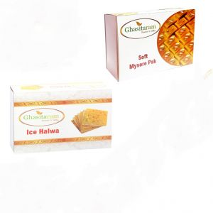 Mithai Hampers - Mysore Pak And Ice Halwa