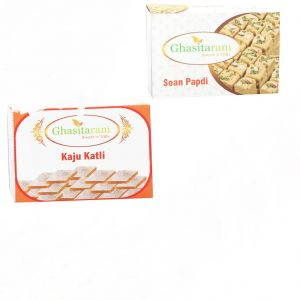 Mithai Hampers - Kaju Katli And Soan Papdi