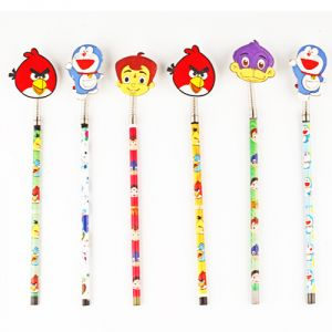 Kids Gifts-set Of Six Fun Pencils