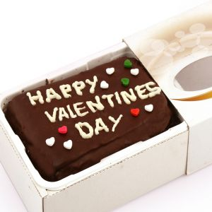 Cakes - Gifts-Happy Valentines Day Chocolate Cake