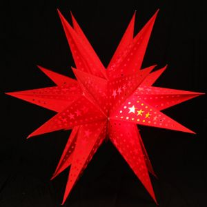Christmas & New Year Gifts - Christmas Light - Red Star light Big