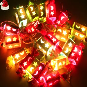 Christmas & New Year Gifts - Christmas Light - Toffee Shaped Lights with Bells