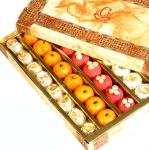 Sweets-ghasitaram Gifts Sugarfree Kajumix Box