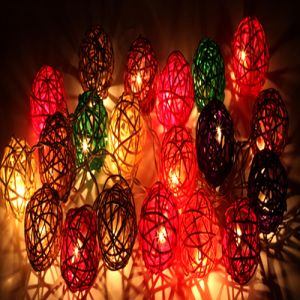 Light- Wooden Balls Lights