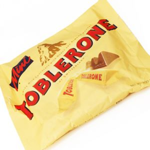 Chocolate-mini Toblerone