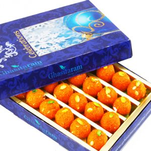 Indian Sweets - Sweets -Motichoor Laddoo Box