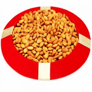 Dryfruit-red Almond Tray