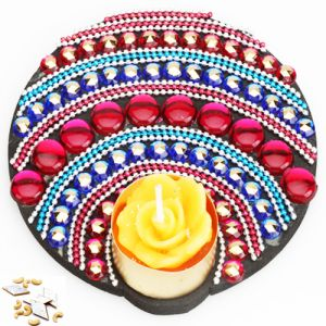 Ghasitaram Gifts-floating Multicolor T-lite