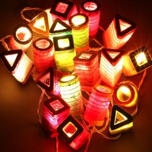 Diwali Geometric Lights