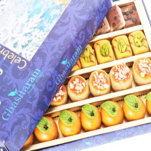 Diwali Mithais - Diwali Gifts Sweets- Kaju Sweets Assorted Box