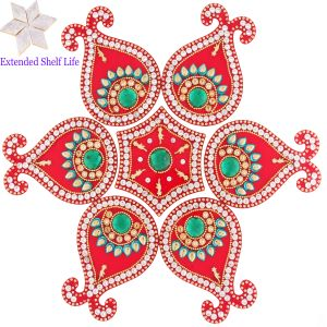 Decorative Acrylic Rangoli 1513