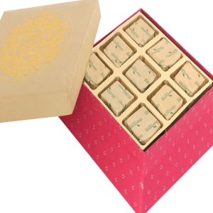 Chocolate - Red Gold 9 PCs Mixed Nuts Chocolate Box