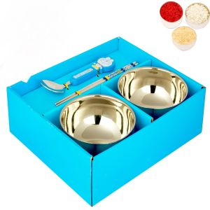 Bhaidooj Gifts Kids Gifts 2 Bowl Kid Set