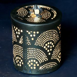 Diwali Lights- Golden Light Jar