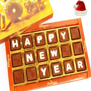 christmas gifts chocolates happy new year theme chocolate box