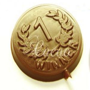 Chocolates - Sugarfree Chocolate Medal Lollies