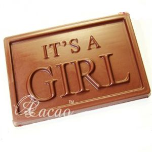 Chocolates - Its A Girl Sugarfree Chocolate Bar