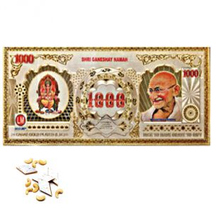 Gifts Hamper-gold Currency Note