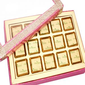 Sugarfree Chocolates- Pink 15 PCs Assorted Sugarfree Chocolates Box