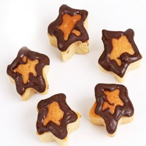 Gifts-mawa Chocolate Star Cake Bites