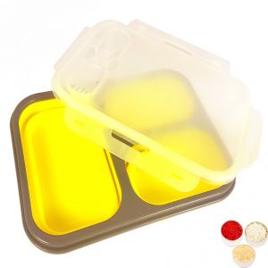 Bhaidooj Kids Gifts Silicon Tiffin Set