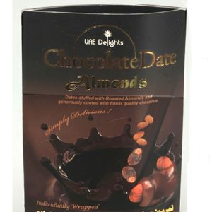 Chocolate-chocolate Date Almonds