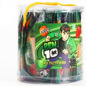Gifts Kids Hampers -ben 10 Mixed Fruit Jelly Box