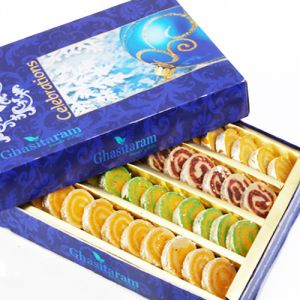 Sweets-ghasitaram Gifts Sugarfree Assorted Moons Box