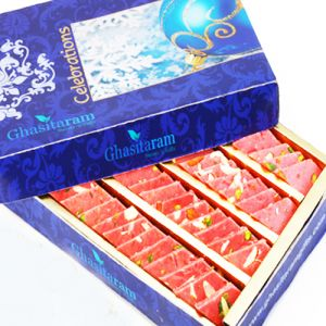 Sweets-ghasitarams Strawberry Katli