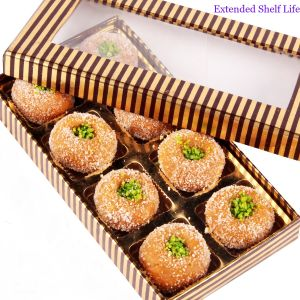 Sweets - Gold And Brown Mathura Peda Box