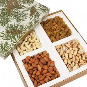Dryfruits - Green Leaf Dryfruit Box