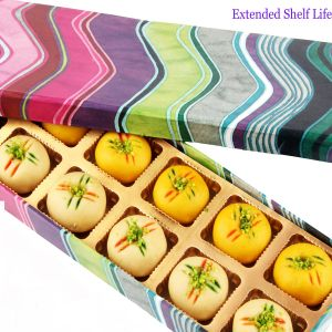 Sweet - Sugarfree Pink Printed Peda Box