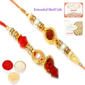 Bhaiya Bhabhi Rakhis (India) - Rakhi for Brother Rakhis Online - The Circle of Trust Bhaiya Bhabhi Rakhi