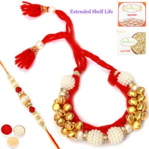 Bhaiya Bhabhi Rakhis (India) - Rakhi for Brother Rakhis Online - Enduring brotherly Love Bhaiya Bhabhi Rakhi