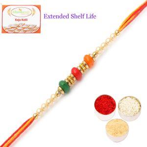 Rakhis & Gifts (USA) - Rakhis online USA-Set of 2  6027  Rakhi Thread