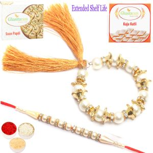 Rakhis & Gifts (Abroad) - Rakhi Gifts For Abroad - Pearls of Love Bhaiya Bhabhirakhi
