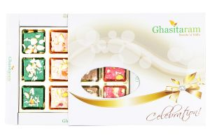 Ghasitarams Sweets Exotic Assorted Kaju Squares Box