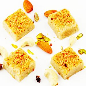 Ghasitarams Sweets Sugarfree Kaju Butterscotch Squares