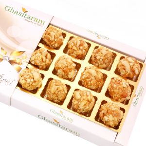 Lohri Sweets-butterscotch Roasted Kaju Delight 12 PCs