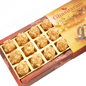 Lohri Sweets-butterscotch Roasted Kaju Delight 18 PCs