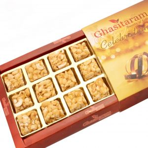 Lohri Sweets-roasted Cashew Delight 18 PCs