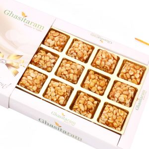 Lohri Sweets-roasted Peanut Delight 12 PCs