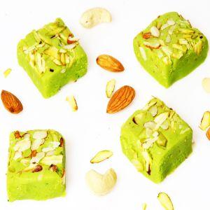 Buy sweets ghasitaram gifts sugarfree rose barfi online best sweets ghasitaram gifts sugarfree pista mawa barfi negle Images