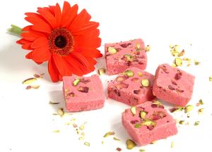 Sweets-ghasitaram Gifts Sugarfree Rose Barfi