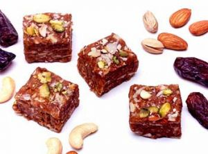 Buy sweets ghasitaram gifts sugarfree almond heads online best sweets ghasitaram gifts sugarfree khajur barfi negle Images