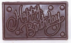 Chocolate-sugarfree Happy Birthday Chocolate