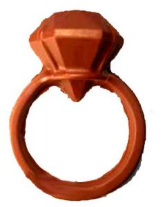 Chocolates-chocolate Diamond Ring
