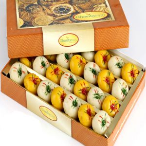 Indian Sweets - Sweets-Ghasitarams Mawa Peda Box
