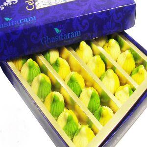 Sugar Free Mithai - Sweets-Ghasitaram's Sugarfree Tirangi Modaks