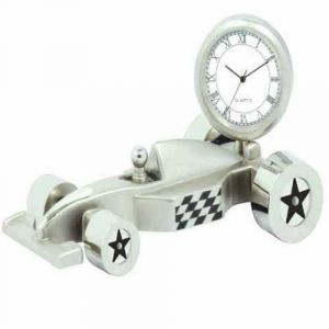 Desktop Clocks-silver Clock Formula 1 - 196